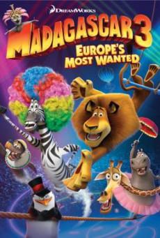 Madagascar 3- Europe's Most Wanted มาดากัสการ์ 3 ข้ามป่าไปซ่าส์ยุโรป (2012)